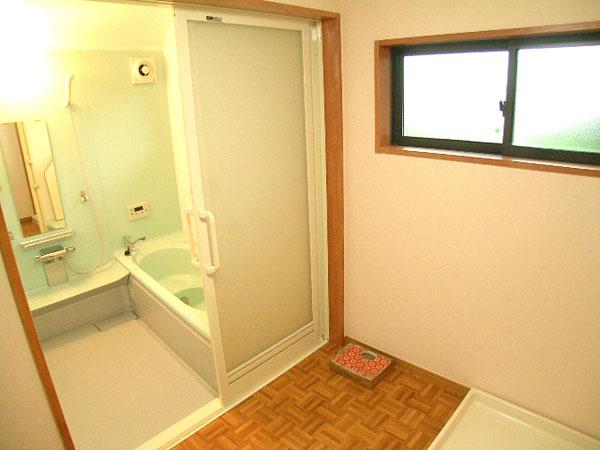 室内を通って暖かなお風呂に入る。そんな当たり前のようなことが、幸せです。