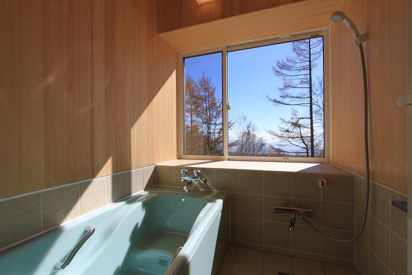 ビバルデならではの絶景風呂