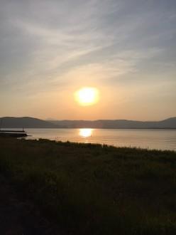 諏訪湖夜4
