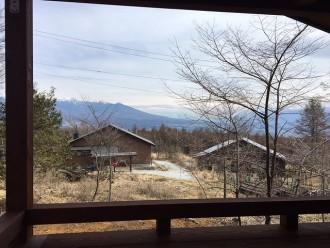 k山荘 眺望